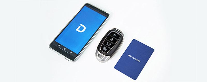 Hyundai Digital Key, Key Fob and Key Card
